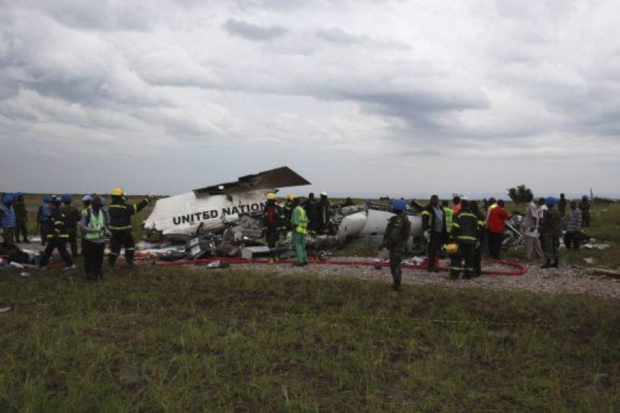 Konge sudužo JT lėktuvas
