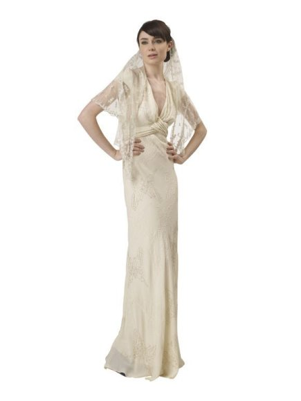 Sophie Cranston sukurta vestuvinė suknelė