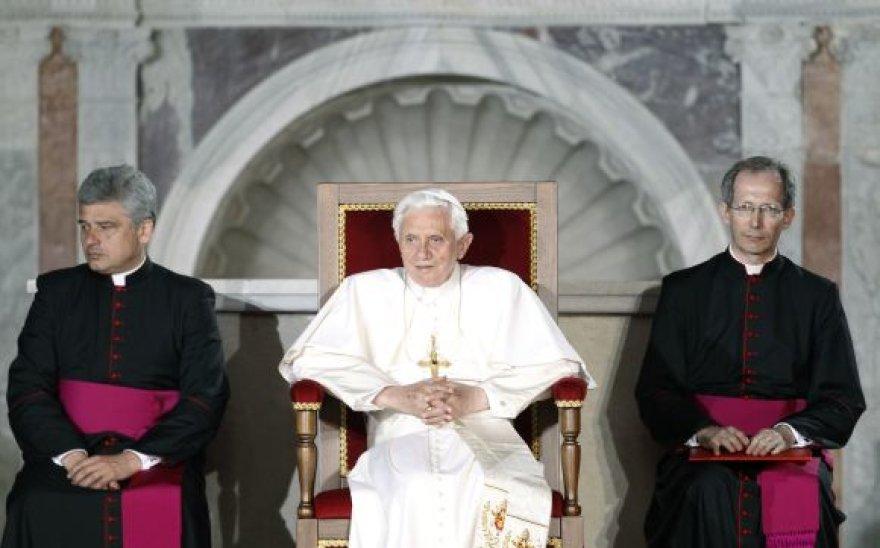 Popiežius Benediktas XVI Venecijoje