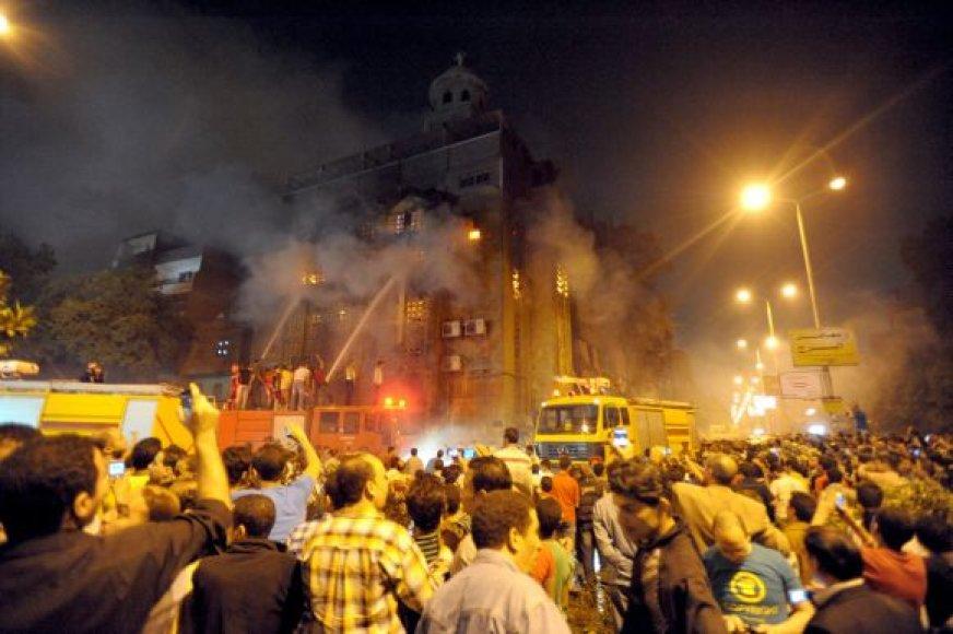 Krikščionių ir musulmonų susirėmimai Kaire