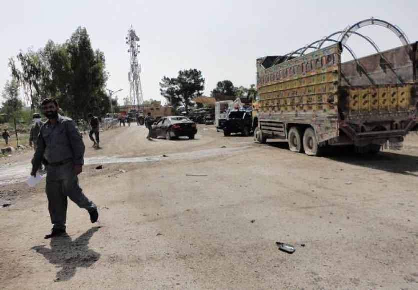 Sprogimas Afganistane birželio 11 d.