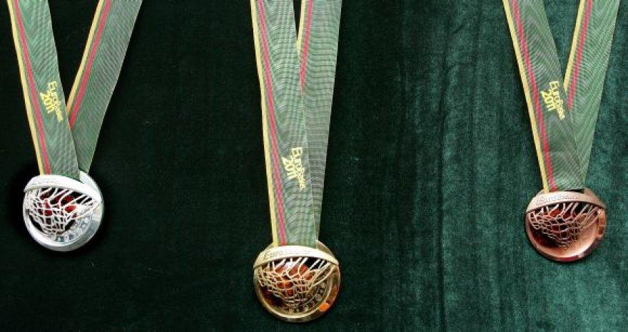 Europos krepšinio čempionato medaliai