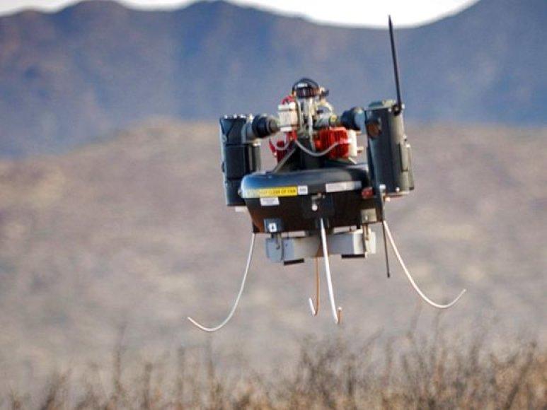 T-Hawk, skraidantis aparatas, matuojantis radiaciją Fukušimos atominėje elektrinėjė