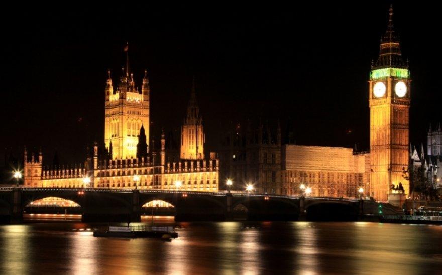 Londonas naktį