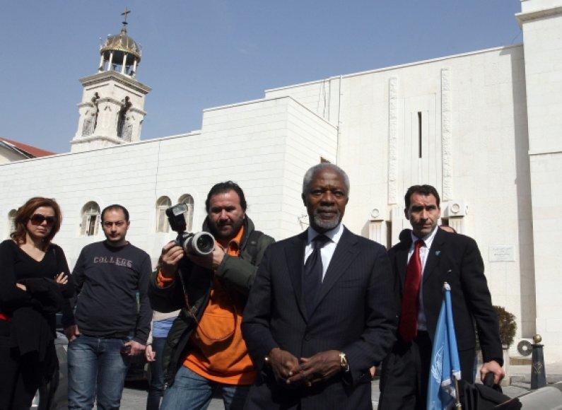 Kofi Annanas Sirijoje