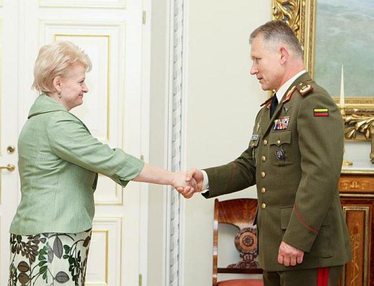 Dalia Grybauskaitė ir Arvydas Pocius