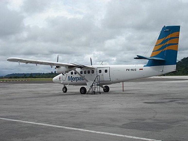 "Aviakompanijos ""Merpati Nusantara"" lėktuvas DHC-6 ""Twin Otter"""