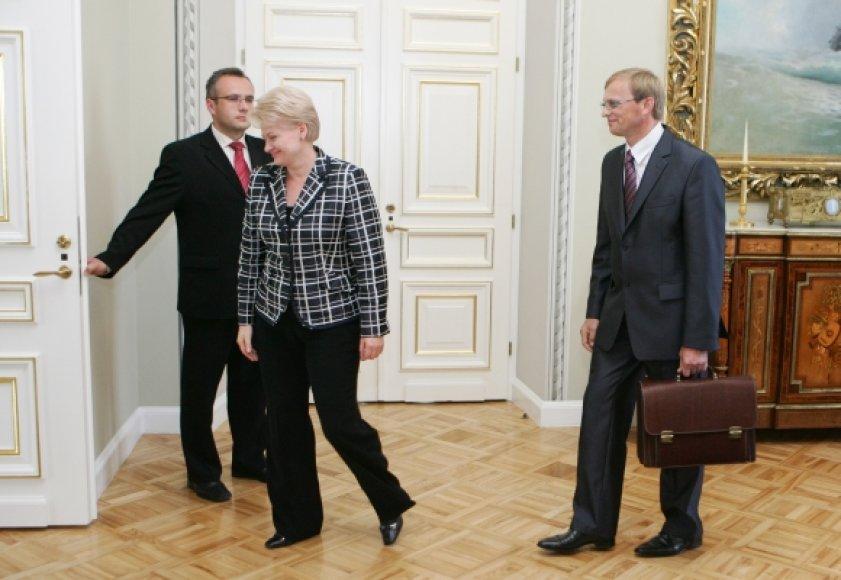Dalia Grybauskaitė išklausys Algimanto Valantino informacijos apie tragiškus įvykius Kaune