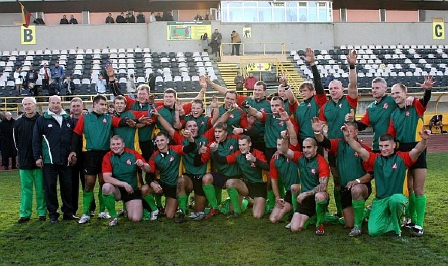 Lietuvos regbininkai įveikė Andorą rezultatu 40:12 (23:0).