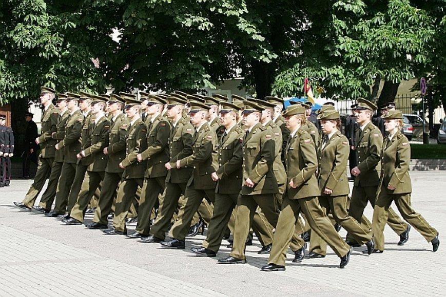 Generolo Jono Žemaičio Lietuvos karo akademijos kariūnai