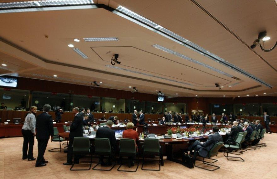 Prie šio stalo per ES viršūnių susitikimus sėdės valstybių lyderiai.