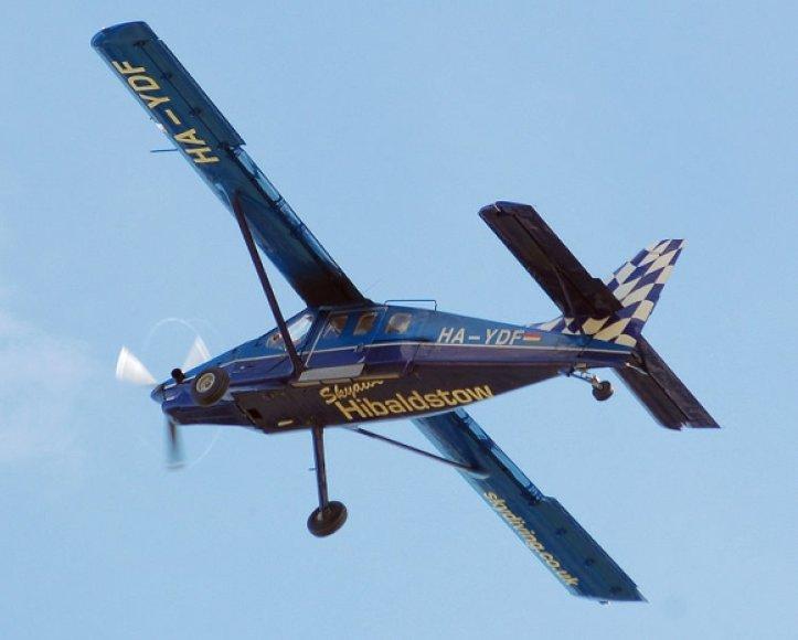"""Čeliabinsko srityje sudužo į šį panašus lėktuvėlis. Nuotraukoje – SM-92 (""""Finist"""") modifikacijos lėktuvas."""