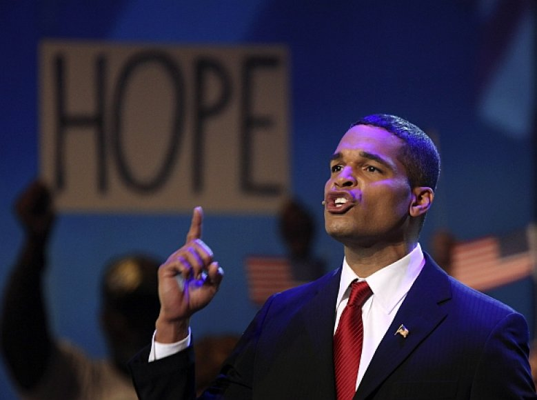 Jimmie Wilsonas miuzikle vaidina Baracką Obamą.