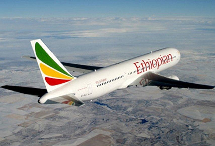 """""""Ethiopian Airlines"""" lėktuvas"""