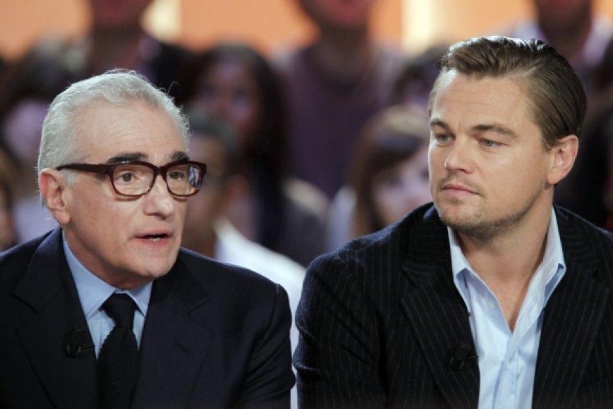 Martinas Scorsese ir Leonardo DiCaprio