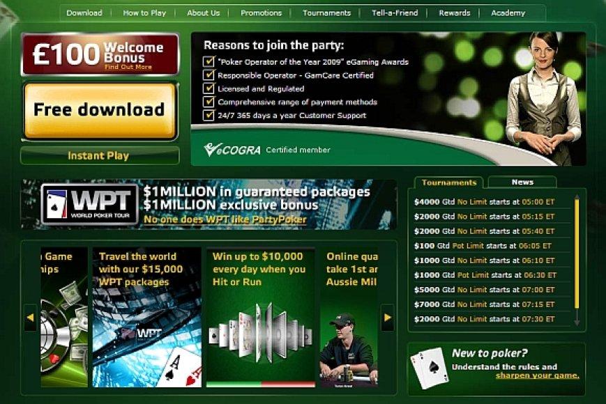 Svetainė Poker.org