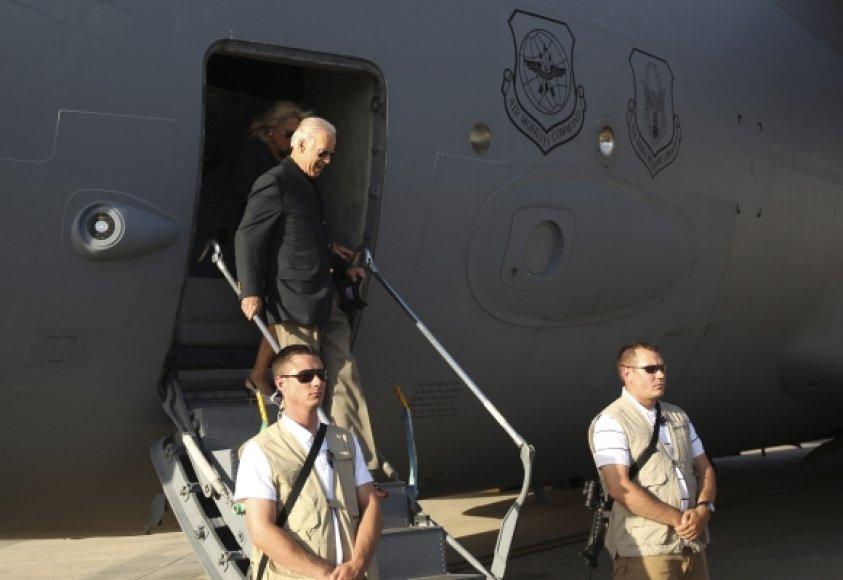 Joe Bidenas apsilankė Irake.