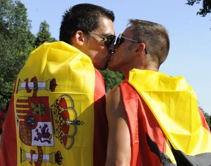 Ispanijos homoseksualistai