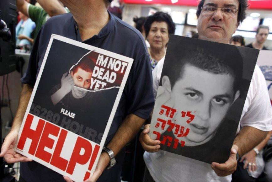 Giladas Shalitas buvo pagrobtas 2006-aisiais.