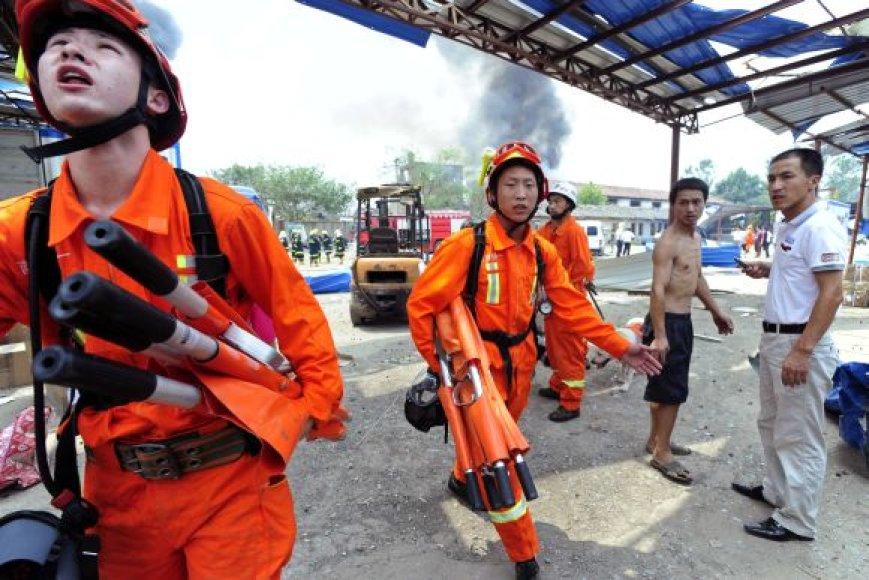 Kinijos ugniagesiai