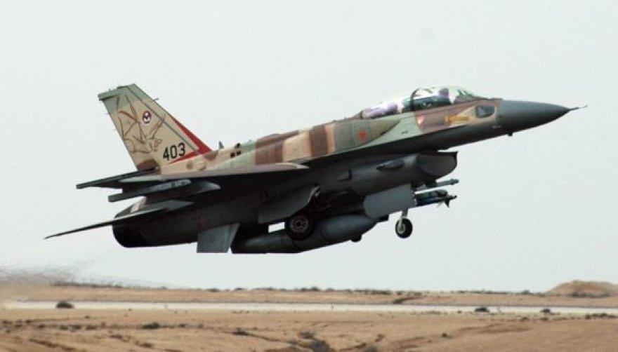 Izraelio naikintuvas F-16I, galintis pasiekti Irano oro erdvę
