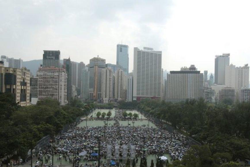 Protesto akcija Honkonge