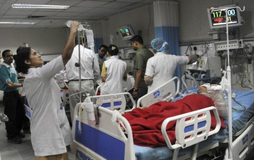 Indijos ligoninėje