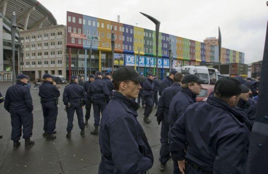 Olandijos policininkai