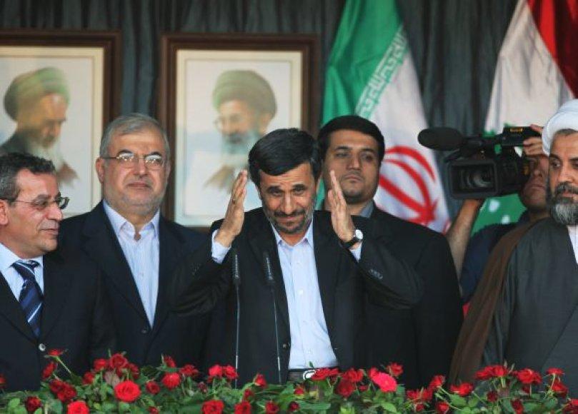 Mahmoudas Ahmadinejadas Bint Džabilyje