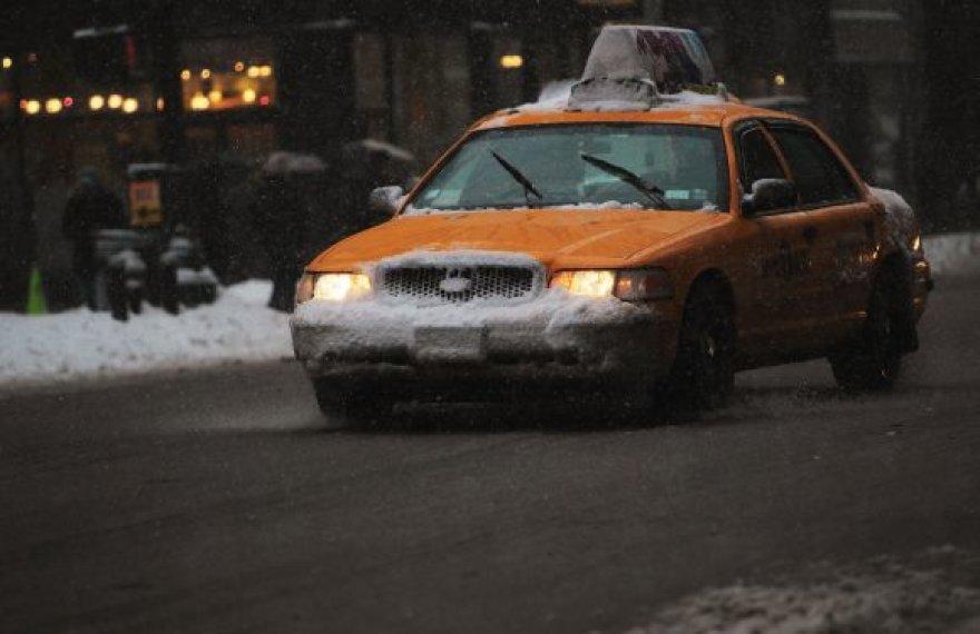 Niujorko taksi automobilis