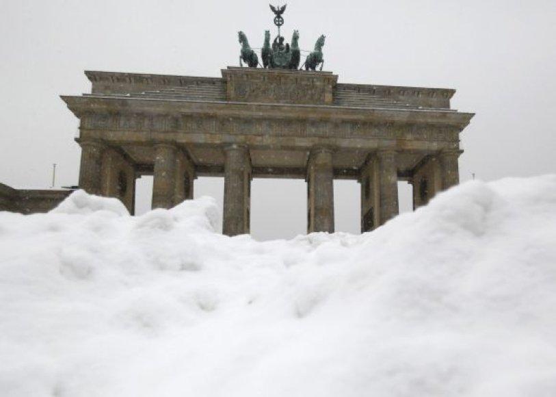 Vokietijos simbolis – Brandenburgo vartai Berlyne