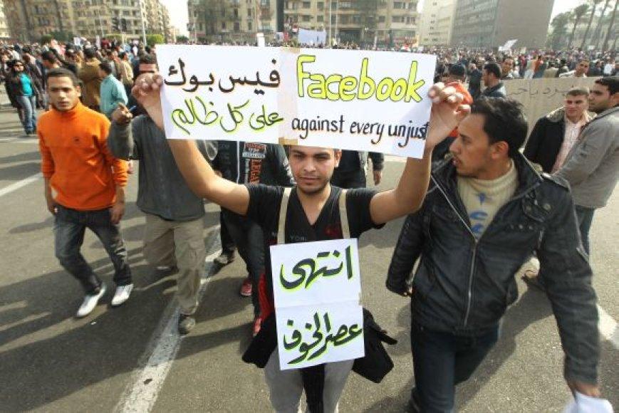 Egipto protestuotojai