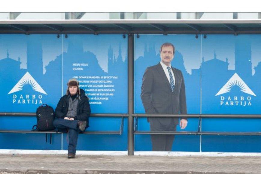 Darbo partijos rinkimų reklama