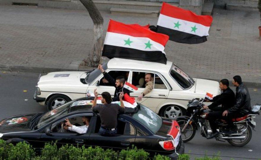Sirijoje kunkuliuoja protestai.