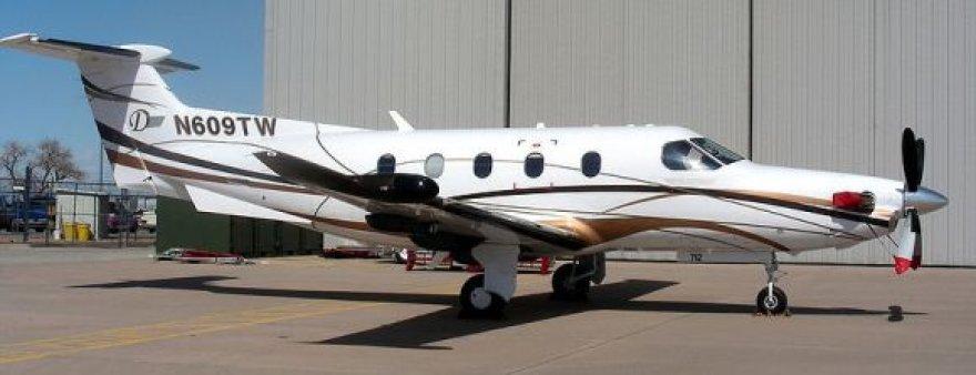 "Lėktuvas ""Pilatus PC-12"""