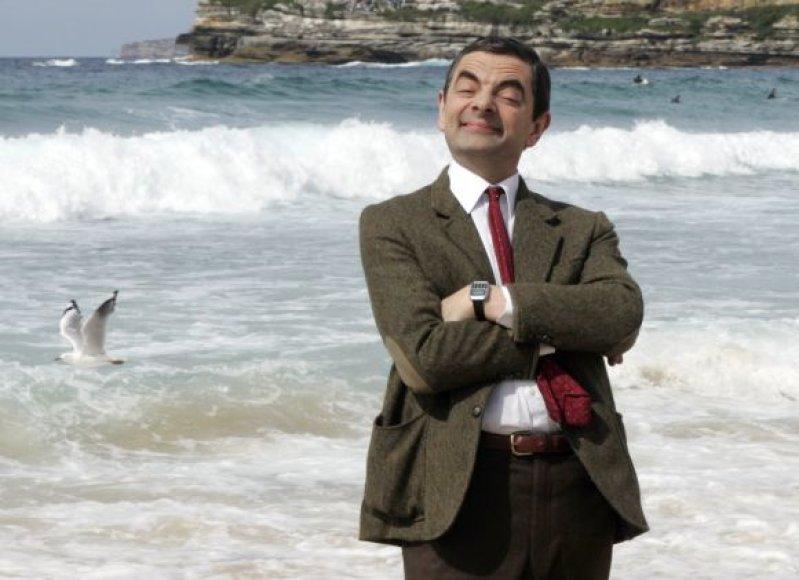 Rowanas Atkinsonas pono Byno vaidmenyje