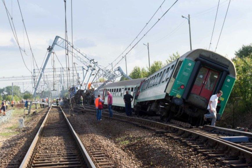 Traukinio avarija Lenkijoje