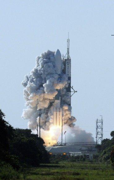 "Raketos ""Delta II"" startas"