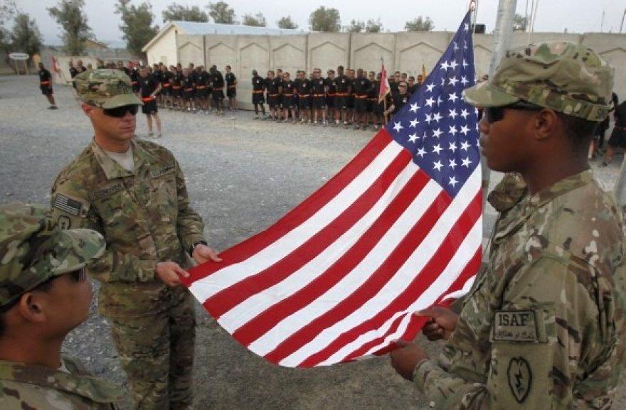 JAV kariai Afganistane paminėjo Rugsėjo 11-osios atakas.