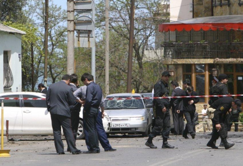 Teroristiniai išpuoliai Machačkaloje – beveik kasdienybė.