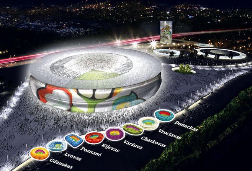 """Europos futbolo čempionatas """"Euro 2012"""" nenumaldomai artėja"""