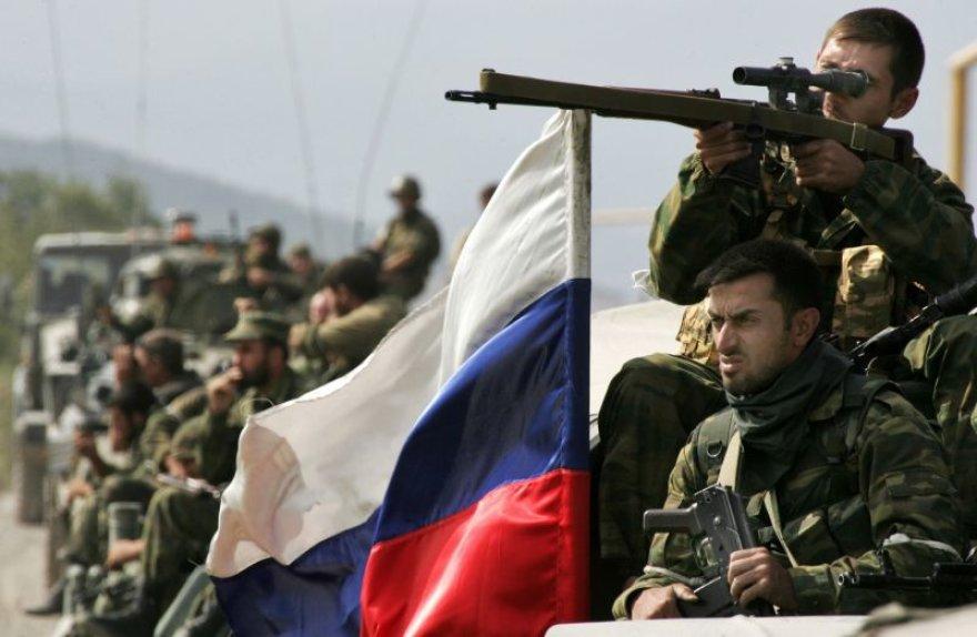 Rusijos karas prieš Gruziją tęsiasi