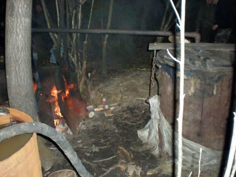 Naminės degtinės gamybos įranga