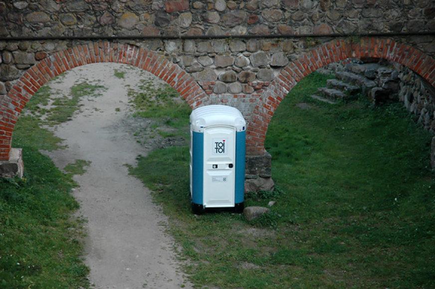 Atskiras tualetas žvaigždėms iš Suomijos