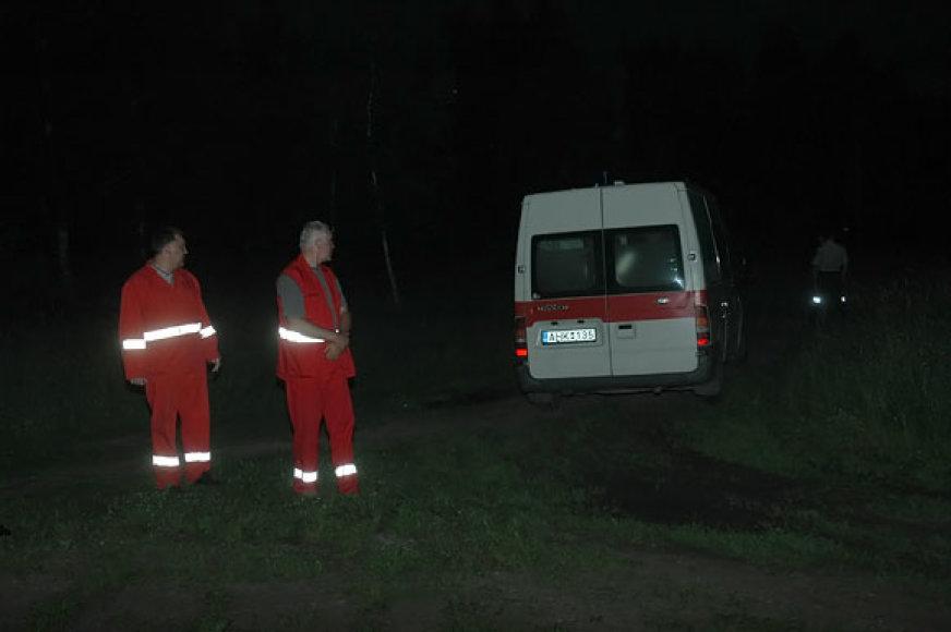 Greitosios pagalbos medikai įvykio vietoje