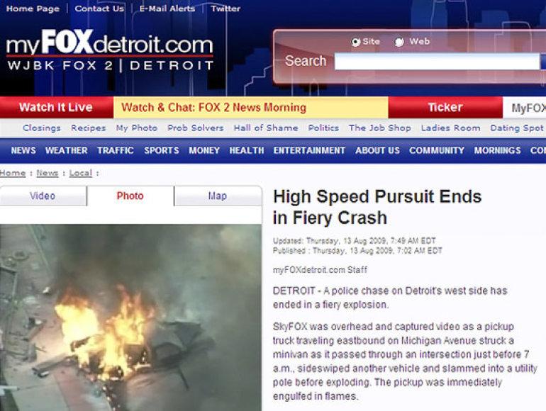 SkyFOX pranešimas apie įvykį