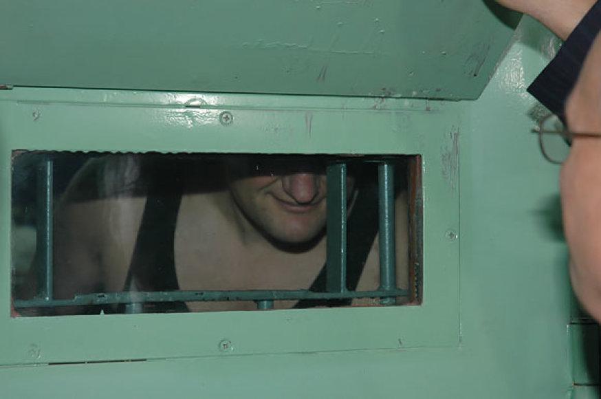 Henrikas Daktaras kalėjime