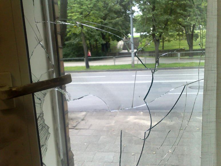 Išdaužtas langas