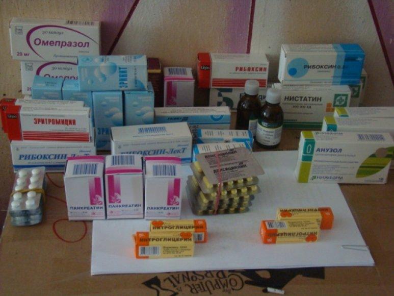 Iš moters konfiskuoti vaistai