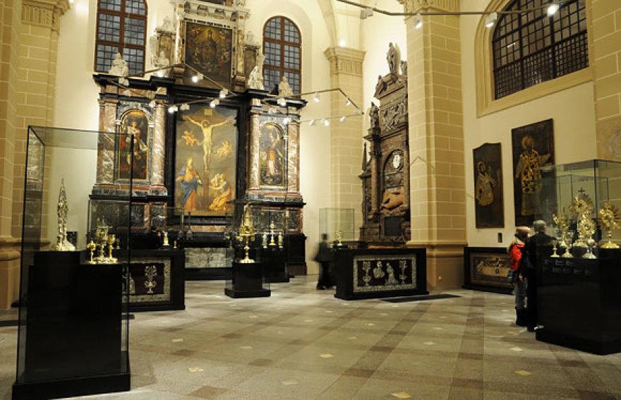 Ekspozicija Bažnytinio paveldo muziejuje